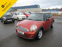 2011 MINI HATCH COOPER 1.6 COOPER 3d 122 BHP £5695.00