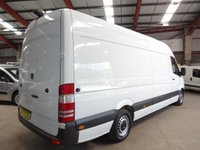 USED 2015 15 MERCEDES-BENZ SPRINTER 2.1 313 CDI LWB 129 BHP LWB HI ROOF VAN - AA DEALER WARRANTY PROMISE - TRADING STANDARDS APPROVED