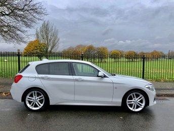2017 BMW 1 SERIES 1.5 116D M SPORT 5d 114 BHP £14495.00