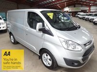 USED 2015 64 FORD TRANSIT CUSTOM 2.2 270 LIMITED LR P/V 125 BHP SWB VAN - AA DEALER WARRANTY PROMISE - TRADING STANDARDS APPROVED