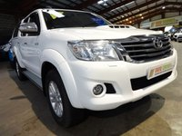 USED 2015 65 TOYOTA HI-LUX 2.5 ICON 4X4 D-4D DCB 142 BHP DOUBLE CAB PICK UP WITH SAT NAV - AA DEALER WARRANTY PROMISE - TRADING STANDARDS APPROVED -