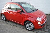 2012 FIAT 500 1.2 LOUNGE 3d 69 BHP £3690.00