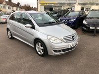 USED 2007 07 MERCEDES B-CLASS 1.7 B170 SE 5d 114 BHP ONLY 2 OWNERS FROM NEW WITH FULL HISTORY