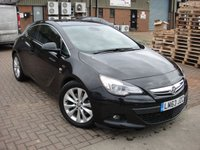 USED 2013 63 VAUXHALL ASTRA 2.0 GTC SRI CDTI S/S 3d 162 BHP ANY PART EXCHANGE WELCOME, COUNTRY WIDE DELIVERY ARRANGED, HUGE SPEC