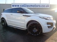 2011 LAND ROVER RANGE ROVER EVOQUE 2.2 SD4 DYNAMIC 3d 190 BHP £17495.00