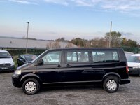 USED 2007 07 VOLKSWAGEN TRANSPORTER SHUTTLE 2.5 T30 SHUTTLE AUTO SE LWB 130 TDI  AUTO, LWB, AC, NO VAT, ONE OWNER FROM NEW, 9 SEATER,