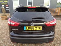 USED 2016 66 NISSAN QASHQAI 1.2 DIG-T Tekna Xtronic CVT 5dr 1 Owner-Pan Roof-Nav-Leather