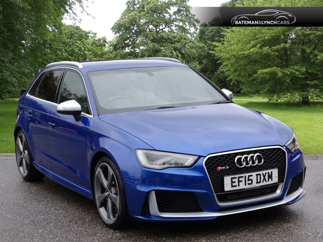 USED 2015 15 AUDI A3 2.5 RS3 SPORTBACK QUATTRO 5d 362 BHP