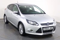 USED 2013 63 FORD FOCUS 1.6 ZETEC TDCI 5d 113 BHP BLUETOOTH I PARKING SENSORS