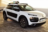 USED 2016 10 CITROEN C4 CACTUS 1.2 PURETECH FLAIR S/S 5d 109 BHP 2016 Citroen C4 Cactus 1.2 Puretech Flair with 33k miles and FSH! PX Welcome, Finance Available!