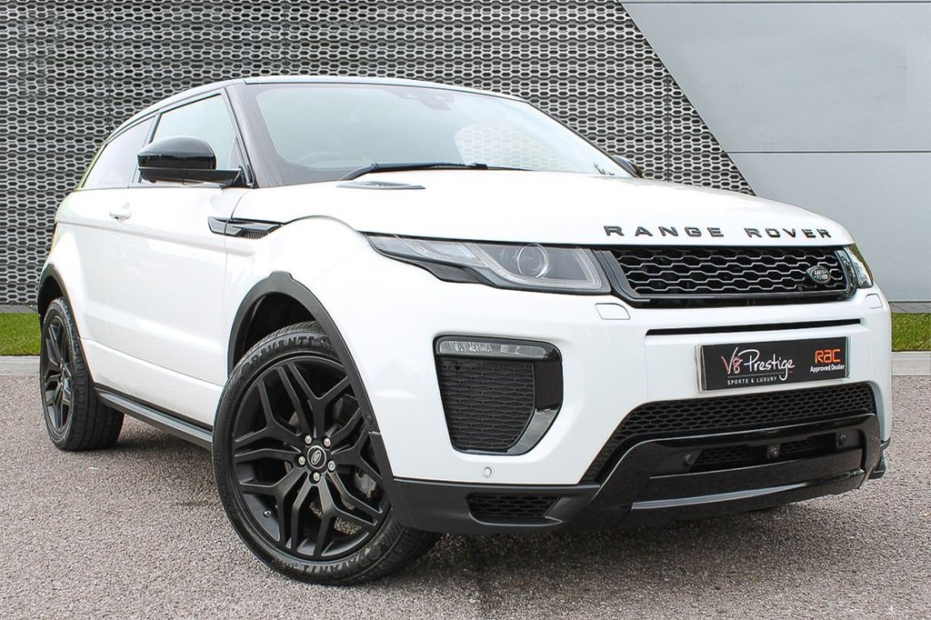 USED 2015 65 LAND ROVER RANGE ROVER EVOQUE 2.0 TD4 HSE DYNAMIC 3d 177 BHP *STEALTH PACK/BLACK SKY ROOF/TV*
