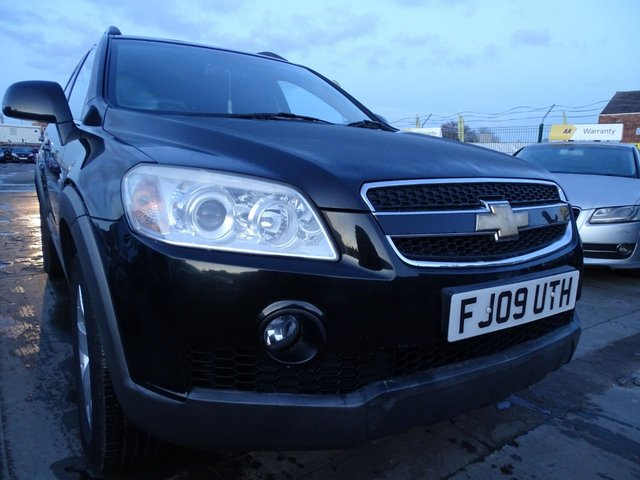 USED 2009 09 CHEVROLET CAPTIVA 2.0 LS VCDI  5d 148 BHP 1 YEAR MOT INCLUDED