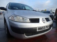 2006 RENAULT MEGANE 1.4 AUTHENTIQUE 16V 5d 98 BHP 1 YEAR MOT INCLUDED £895.00