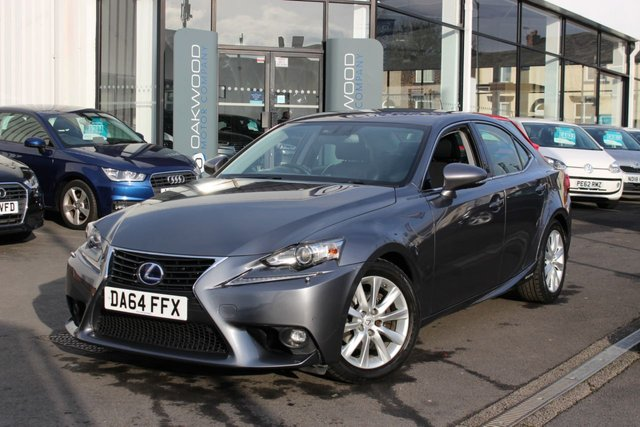 USED 2014 64 LEXUS IS 2.5 Executive Edition E-CVT 4dr SALOON
