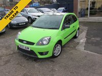 2008 FORD FIESTA 1.6 ZETEC S CELEBRATION 3d 100 BHP £2995.00