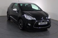 USED 2013 13 CITROEN DS3 1.6 DSTYLE PLUS 3d 120 BHP Demo and ONE LADY OWNER From New with 7 Stamp SERVICE HISTORY