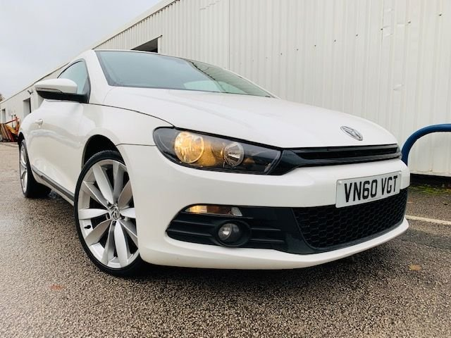 USED 2010 60 VOLKSWAGEN SCIROCCO 2.0 GT TDI 3d 140 BHP FULL SERVICE HISTORY - 12 MONTH MOT - ELECTRIC WINDOWS & MIRRORS - 3 MONTH WARRANTY