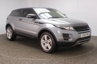 USED 2012 62 LAND ROVER RANGE ROVER EVOQUE 2.2 SD4 PURE 3DR 190 BHP FULL SERVICE HISTORY + HEATED LEATHER SEATS + PARKING SENSOR + BLUETOOTH + CRUISE CONTROL + CLIMATE CONTROL + MULTI FUNCTION WHEEL + DAB RADIO + XENON HEADLIGHTS + PRIVACY GLASS + ELECTRIC WINDOWS + ELECTRIC MIRRORS + 19 INCH ALLOY WHEELS