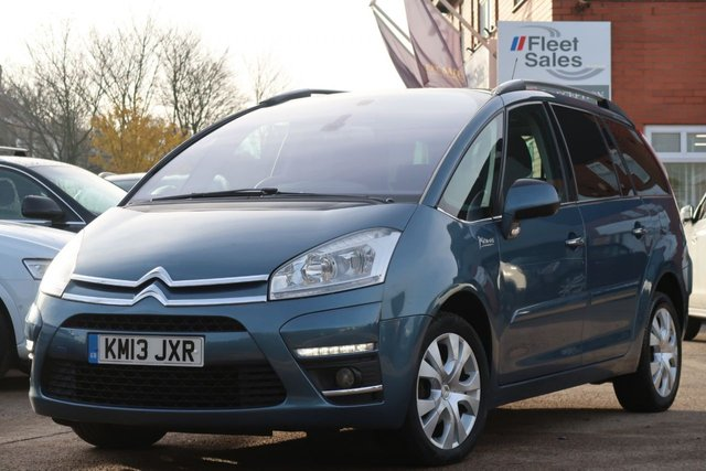 USED 2013 13 CITROEN C4 GRAND PICASSO PLATINUM HDI PANORAMIC SUNROOF + 3 MONTHS AA WARRANTY INCLUDED