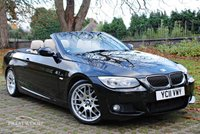 USED 2011 11 BMW 3 SERIES 330D M SPORT STEP AUTO CONVERTIBLE [245 BHP]