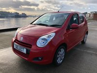 USED 2009 59 SUZUKI ALTO 1.0L SZ4 5d 68 BHP Value Suzuki Alto Part Exchange To Clear Bright Red, 78,700 Miles Low insurance, Cheap Road Tax, January 2021 MOT  And Fab MPG