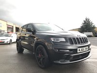 USED 2016 66 JEEP GRAND CHEROKEE 6.4 SRT NIGHT 5d 461 BHP Stunning Car, Great colour, Low mileage, Sounds amazing.