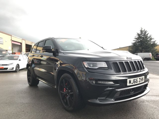 2016 66 JEEP GRAND CHEROKEE 6.4 SRT NIGHT 5d 461 BHP