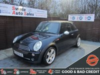 USED 2005 55 MINI 1300 COOPER FINANCE AVAILABLE FROM £23 PER WEEK OVER TWO YEARS - SEE FINANCE LINK FOR DETAILS