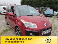 USED 2009 59 CITROEN C3 PICASSO 1.4 PICASSO EXCLUSIVE 5d 95 BHP HIGH SPEC ALLOYS PANORAMIC ROOF CD AIRCON