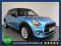 USED 2015 65 MINI HATCH COOPER 1.5 COOPER 5d 134 BHP MINI HISTORY - 1 OWNER - PAN ROOF - AIR  CON - BLUETOOTH - DAB RADIO - SUNROOF - PRIVACY - AUX / USB CONNECTIVITY