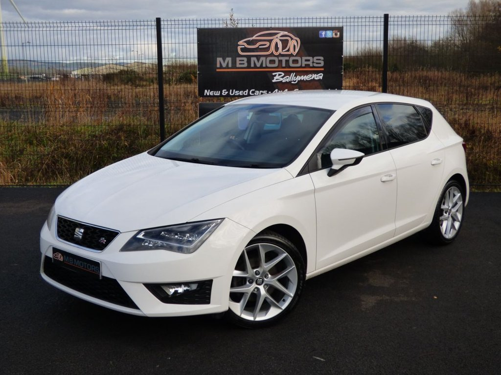 USED 2016 SEAT LEON FR TECHNOLOGY 2.0 TDI 5d 150 BHP