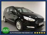 USED 2017 67 FORD GALAXY 2.0 ZETEC TDCI 5d 148 BHP FULL HISTORY - 1 OWNER - 7 SEATS - SAT NAV - PARKING SENSORS - AIR CON - BLUETOOTH - -DAB - CRUISE - PRIVACY