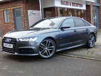 USED 2017 17 AUDI A6 2.0 TDI ULTRA BLACK EDITION 4d 188 BHP LOVELY BLACK EDITION ULTRA AUTOMATIC