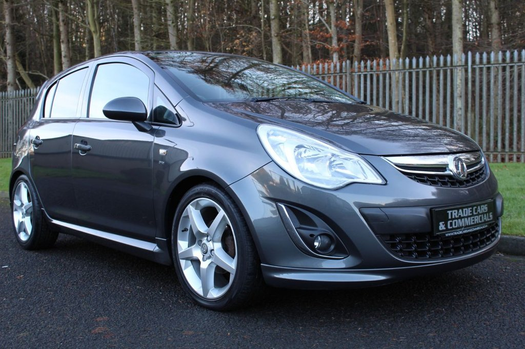 USED 2011 61 VAUXHALL CORSA SRI A LOW MILEAGE CAR WITH FULL SERVICE HISTORY!!!