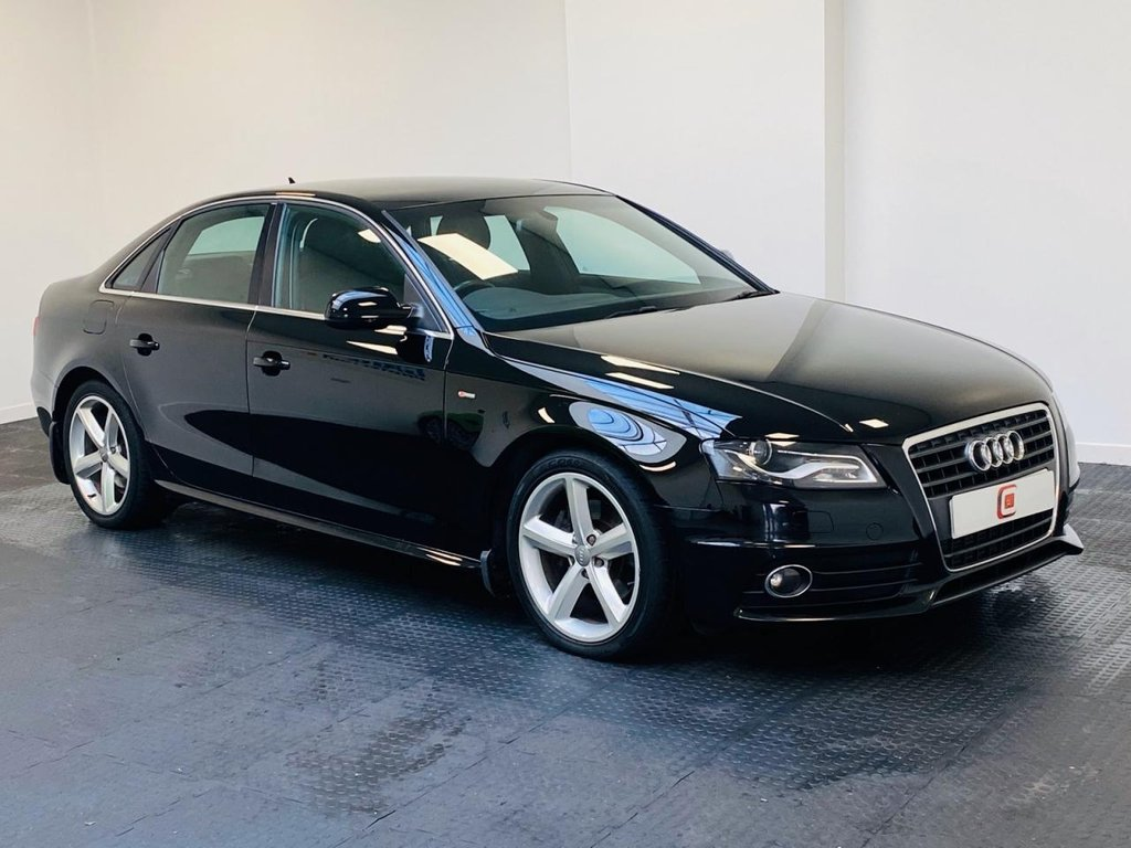 USED 2009 59 AUDI A4 2.0 TDI S LINE 4d 141 BHP LOW MILES + SERVICE HISTORY + SUPER VALUE + WARRANTY