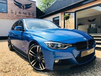 2017 BMW 3 SERIES 3.0 335D XDRIVE M SPORT 4d 308 BHP £21490.00