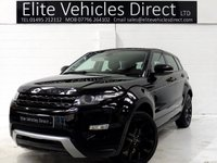 USED 2012 12 LAND ROVER RANGE ROVER EVOQUE 2.2 SD4 DYNAMIC 5d 190 BHP