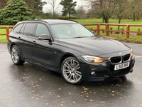 USED 2015 15 BMW 3 SERIES 3.0 335D XDRIVE M SPORT TOURING 5d 309 BHP FULL SERVICE HISTORY, PROFESSIONAL NAVIGATION, UPGRADED ALLOYS, FULL LEATHER, HEATED FRONT & REAR SEATS, CLIMATE CONTROL, CRUISE CONTROL , PARKING SENSORS, PHONE PREP. EXTERIOR LIGHT PACK, MULTI FUNCTION STEERING WHEEL, POWERED TAILGATE.