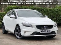 USED 2015 65 VOLVO V40 2.0 D2 R-DESIGN NAV 5d 118 BHP GEARTRONIC
