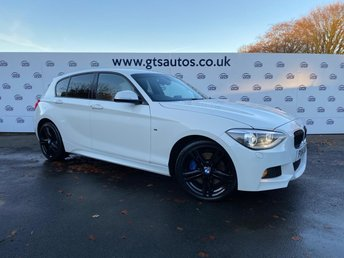 2014 BMW 1 SERIES 2.0 120D X-DRIVE 4WD M SPORT PLUS FIVE DOOR 184BHP £9980.00