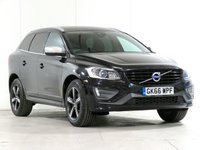 2016 VOLVO XC60 2.0 D4 R-DESIGN LUX NAV 5d 188 BHP £18365.00