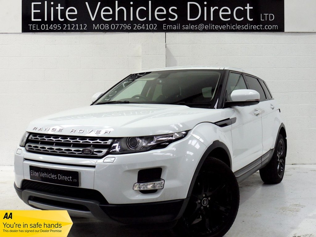 USED 2012 T LAND ROVER RANGE ROVER EVOQUE 2.2 SD4 PURE TECH 5d 190 BHP