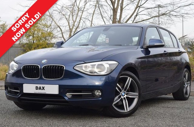 2012 62 BMW 1 SERIES 2.0 120D SPORT 5d 181 BHP