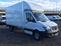2018 MERCEDES-BENZ SPRINTER 2.1 314CDI 140 BHP LUTON WITH TAIL LIFT EURO 6 (SB67AFV) £15500.00