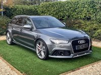 USED 2015 15 AUDI RS6 AVANT 4.0 RS6 AVANT TFSI V8 QUATTRO 5d 553 BHP VAT Qualifying Daytona Grey Metallic with 21 Inch Twin Spoke Alloy Wheels, Sports Exhausts and a Full Black Leather Interior. Features Include Heated Electric Memory Seats, Panoramic Glass Sunroof,  HDD Satellite Navigation,  Bluetooth Connectivity inc Wireless Charging, Bang & Olufsen Premium Surround Sound,  DAB Radio, Automatic LED Matrix Headlights, Remote Power Tailgate, Front and Rear Park Distance Control with 360 Camera's, Heated Leather Multi Function Steering Wheel, Adaptive Cruise...