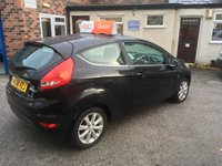 USED 2009 58 FORD FIESTA 1.4 ZETEC 16V 3d 96 BHP Only 32,000 Miles,Full Service History Invoices, 12 Mths Mot, Rear Parking Sensors,Power Fold Mirrors !