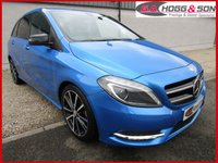 "USED 2014 64 MERCEDES-BENZ B-CLASS 1.5 B180 CDI BLUEEFFICIENCY SPORT 5dr 107 BHP *18""ALLOYS, P/GLASS & LEATHER*"