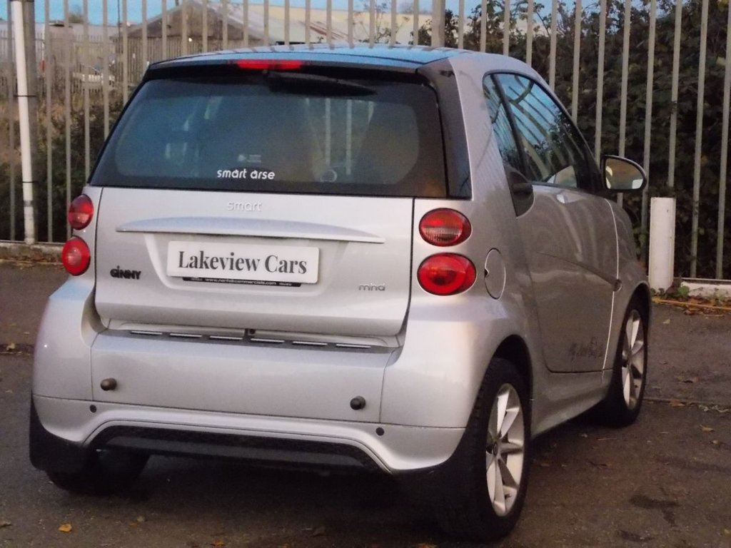 USED 2013 13 SMART FORTWO COUPE 1.0 PASSION MHD 2d 71 BHP