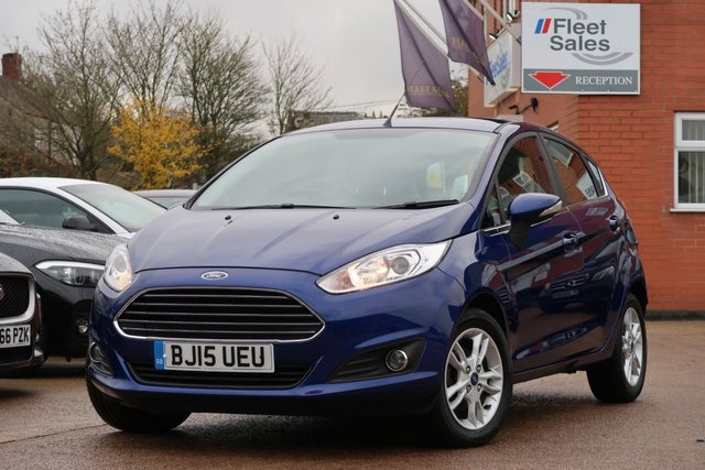 USED 2015 15 FORD FIESTA 1.5 ZETEC TDCI 5d 74 BHP FULL FORD SERVICE HISTORY + FINANCE AVAILABLE