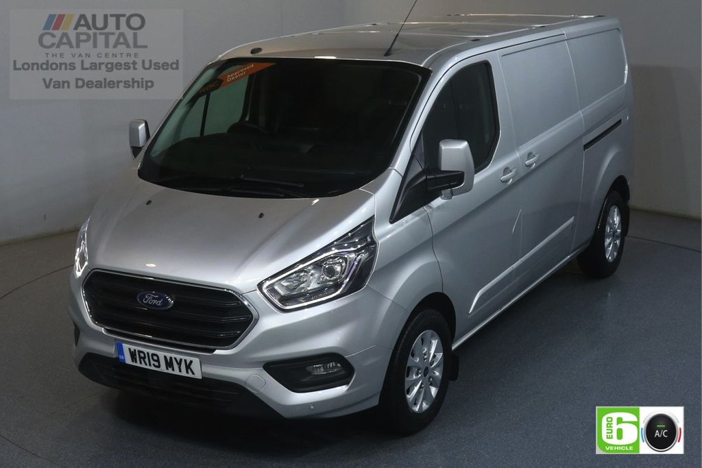 USED 2019 19 FORD TRANSIT CUSTOM 2.0 300 LIMITED L2 H1 129 BHP EURO 6 ENGINE AIR CON, PARKING SENSORS, ALLOY WHEEL, HEATED FRONT SEATS